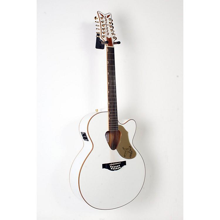 Gretsch GuitarsG5022CWFE-12 Rancher Falcon Jumbo 12-String Acoustic-Electric GuitarWhite888365908625