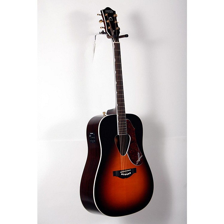 Gretsch Guitars G5024E Rancher Dreadnought Acoustic-Electric Guitar Sunburst 888365917382