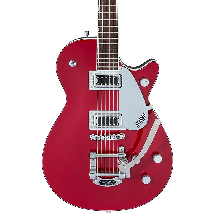 Gretsch GuitarsG5230T Electromatic Jet with Bigsby Electric GuitarAirline Silver