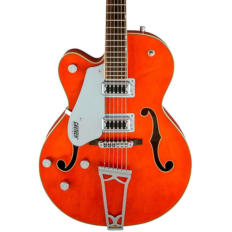 Gretsch Guitars G5420LH Electromatic Hollowbody Left Handed Electric Guitar Orange Stain