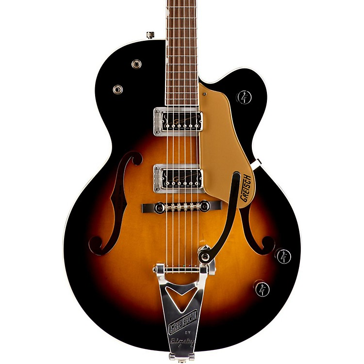 Gretsch Guitars G6117T Anniversary HT With Bigsby Electric Guitar Sunburst 886830822575