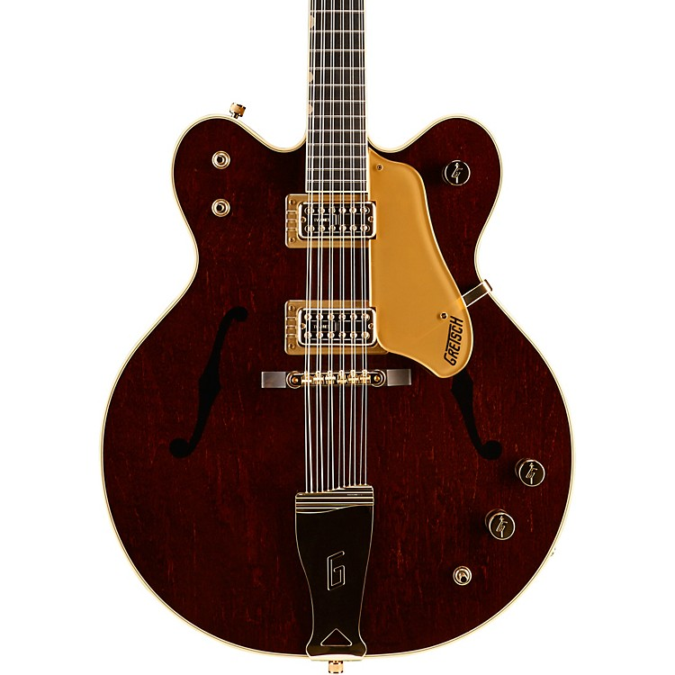 Gretsch Guitars G6122-6212 Vintage Select Edition '62 Chet Atkins Country Gentleman Hollowbody 12-String Walnut Stain