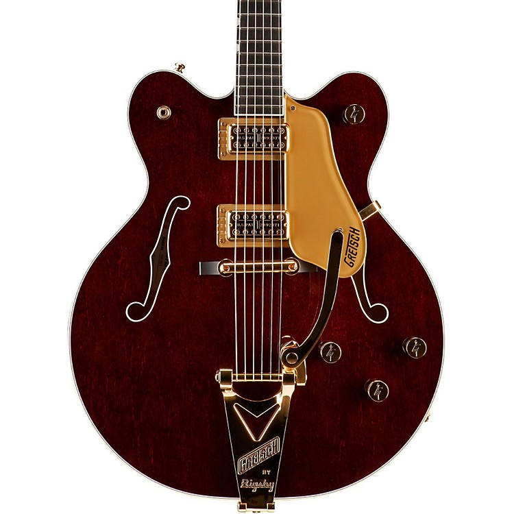 Gretsch Guitars G6122T Country Gent with Bigsby Hollowbody Electric Guitar Walnut