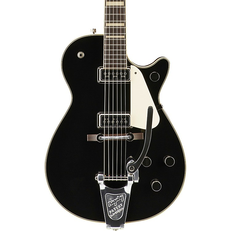 Gretsch GuitarsG6128T-53 Vintage Select '53 Duo Jet with Bigsby Electric GuitarBlack