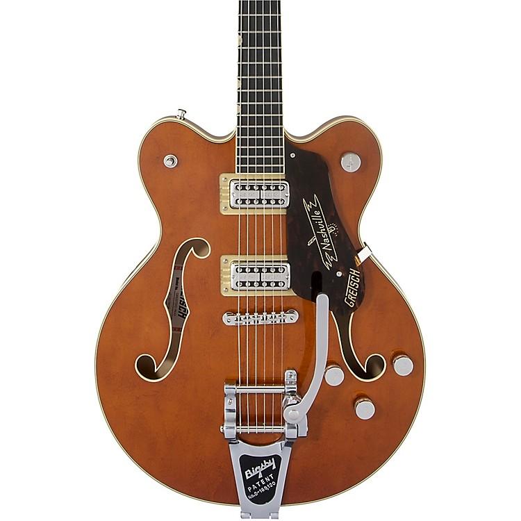 Gretsch GuitarsG6620T Players Edition Nashville Center Block Bigsby Semi-Hollow Electric GuitarRound-Up Orange