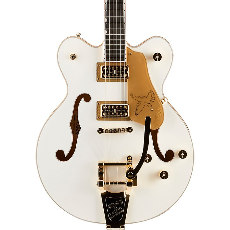 Gretsch Guitars G6636T Players Edition Falcon Center Block Bigsby Sem-Hollow Electric Guitar White