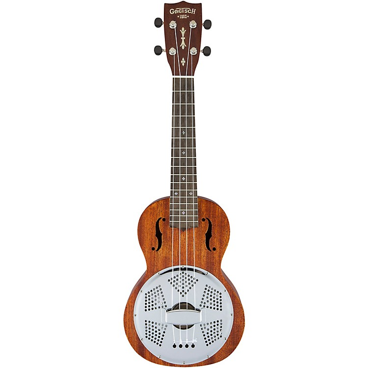 Gretsch Guitars G9112 Resonator-Ukulele with Ovangkol Fingerboard Mahogany
