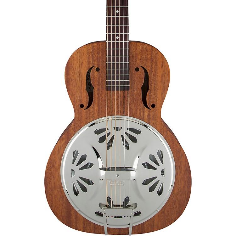 gretsch guitars g9200 boxcar round neck resonator guitar natural music123. Black Bedroom Furniture Sets. Home Design Ideas