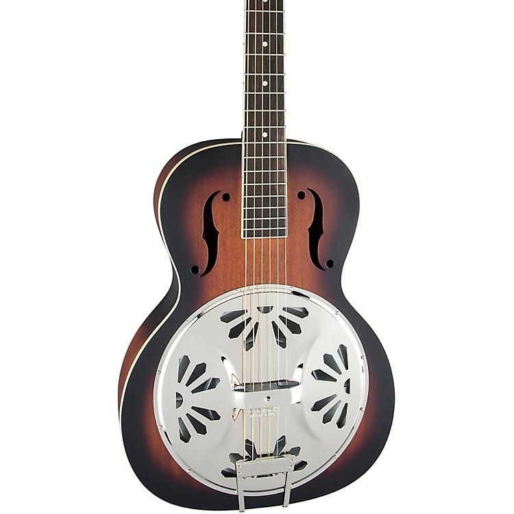 Gretsch GuitarsG9220 Bobtail Round-Neck Resonator Guitar, Spider Cone2-Color Sunburst