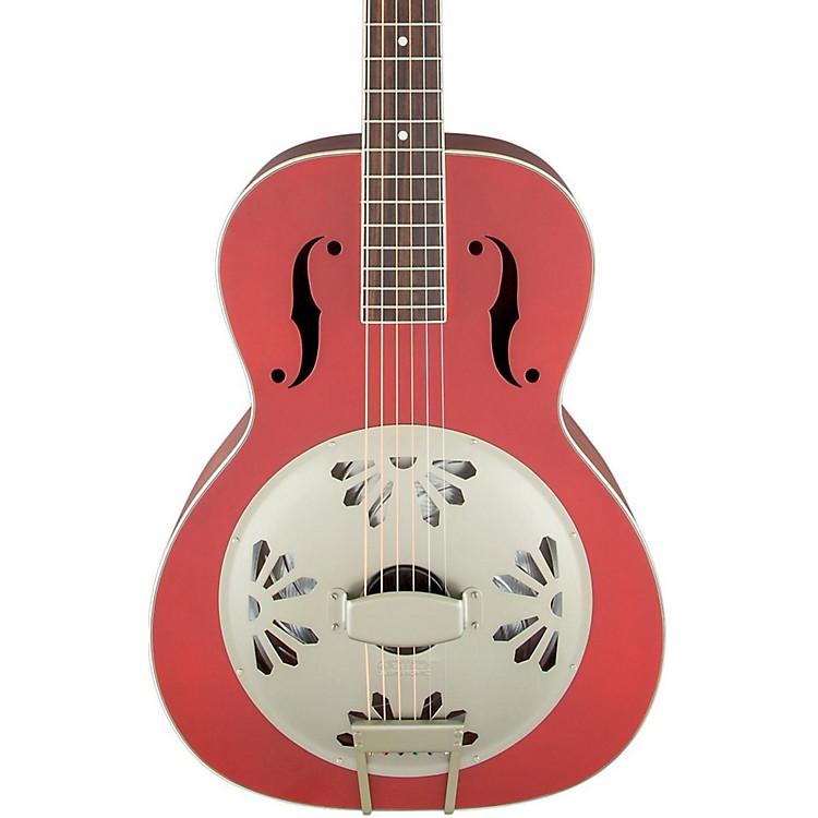 Gretsch GuitarsG9241 Alligator Biscuit Round-Neck Acoustic-Electric Resonator GuitarChieftain Red