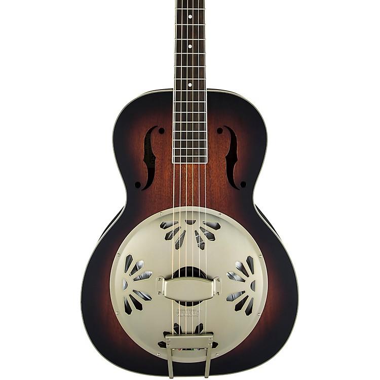 Gretsch GuitarsG9241 Alligator Biscuit Round-Neck Resonator Guitar2-Color Sunburst