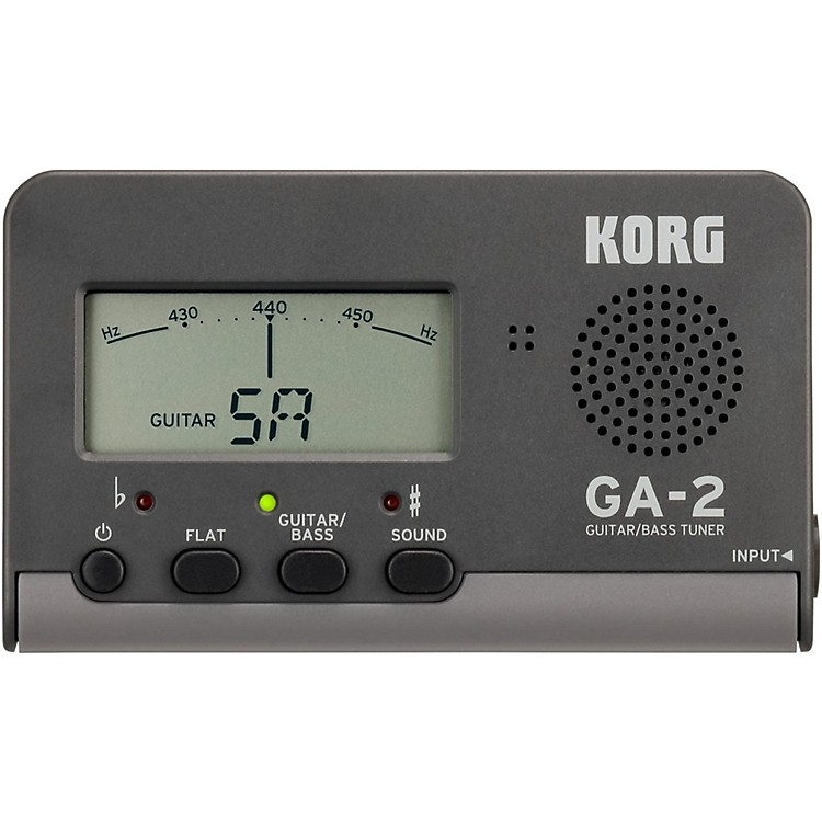 Korg GA-2 Handheld Guitar and Bass Tuner Black