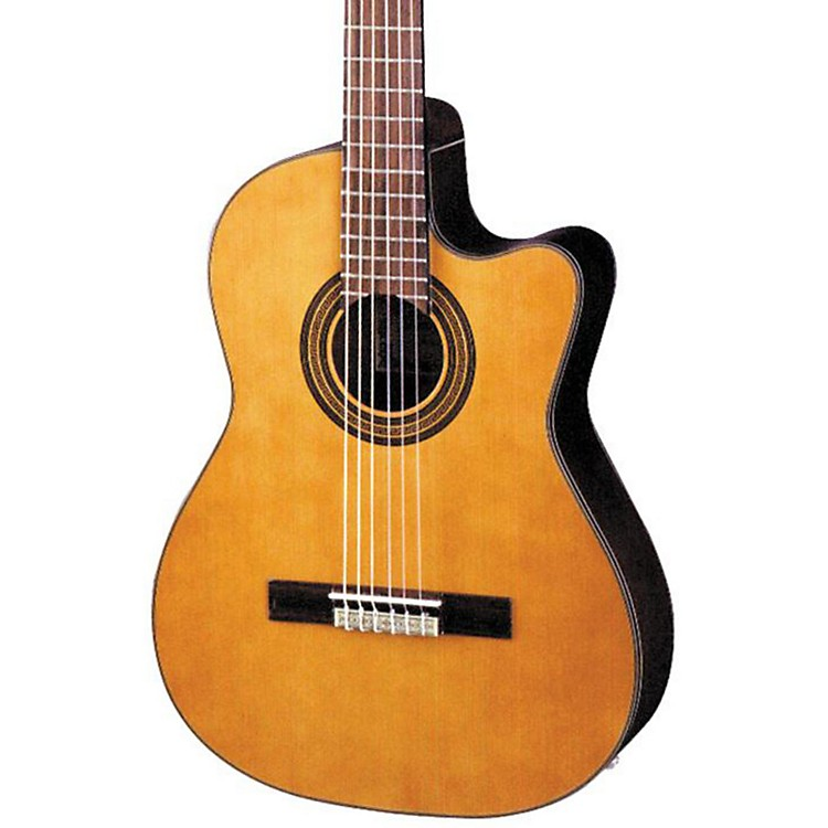 Ibanez GA Series GA6CE Classical Cutaway Acoustic-Electric Guitar Natural 190839069221