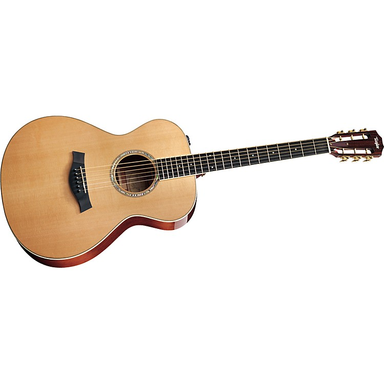 TaylorGA4-L Ovangkol/Spruce Grand Auditorium Left-Handed Acoustic Guitar