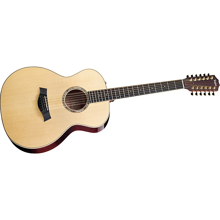 Taylor GA8-12 Grand Auditorium 12-String Acoustic Guitar (2010 Model) Natural