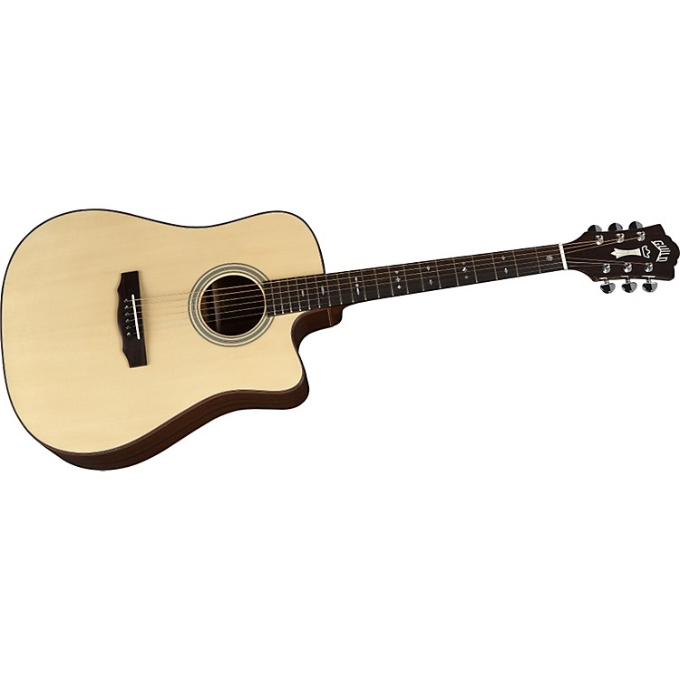 Guild gad 40c acoustic design series cutaway acoustic for Acoustic guitar decoration