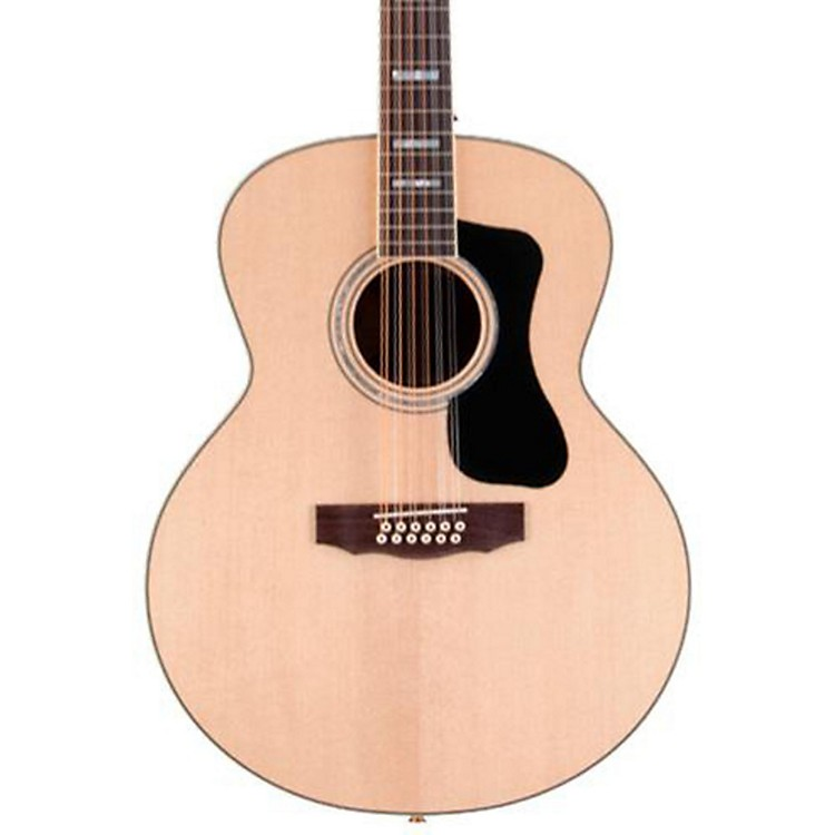 GuildGAD Series F-1512E 12-String Jumbo Acoustic-Electric Guitar
