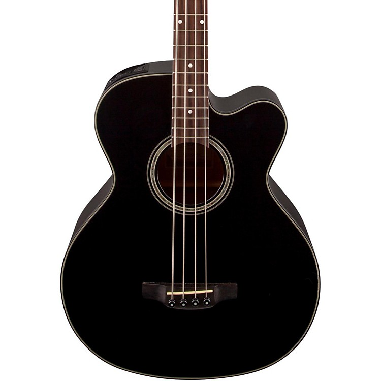 Takamine GB30CE Acoustic-Electric Bass Guitar Black 888365906263