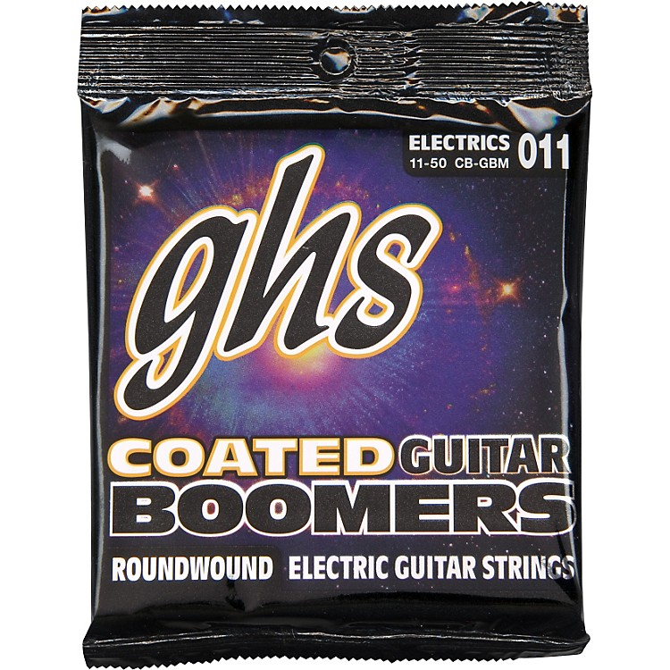 GHSGBM Coated Boomers Medium Electric Guitar Strings