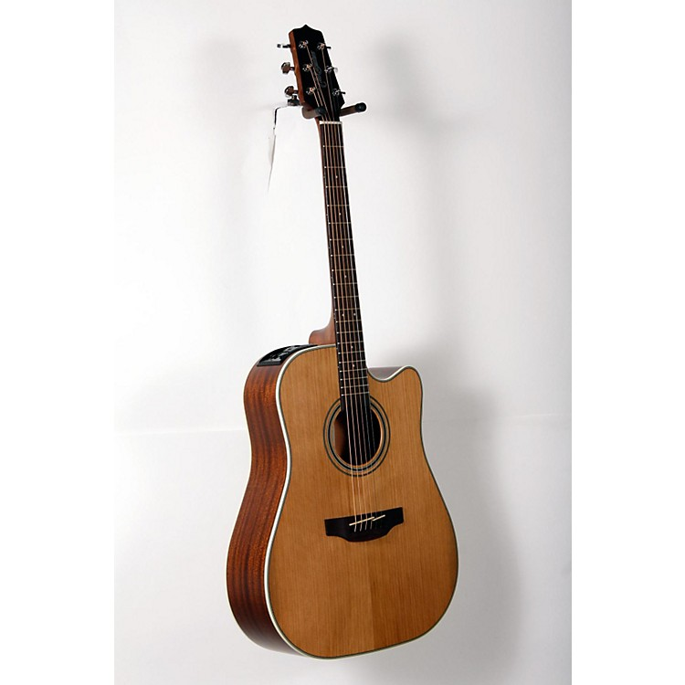 Takamine GD20CE-NS Dreadnought Cutaway Acoustic-Electric Guitar Natural 888365905693