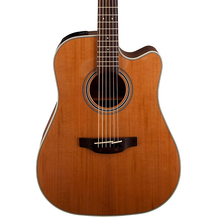 Takamine GD20CE-NS Dreadnought Cutaway Acoustic-Electric Guitar Natural
