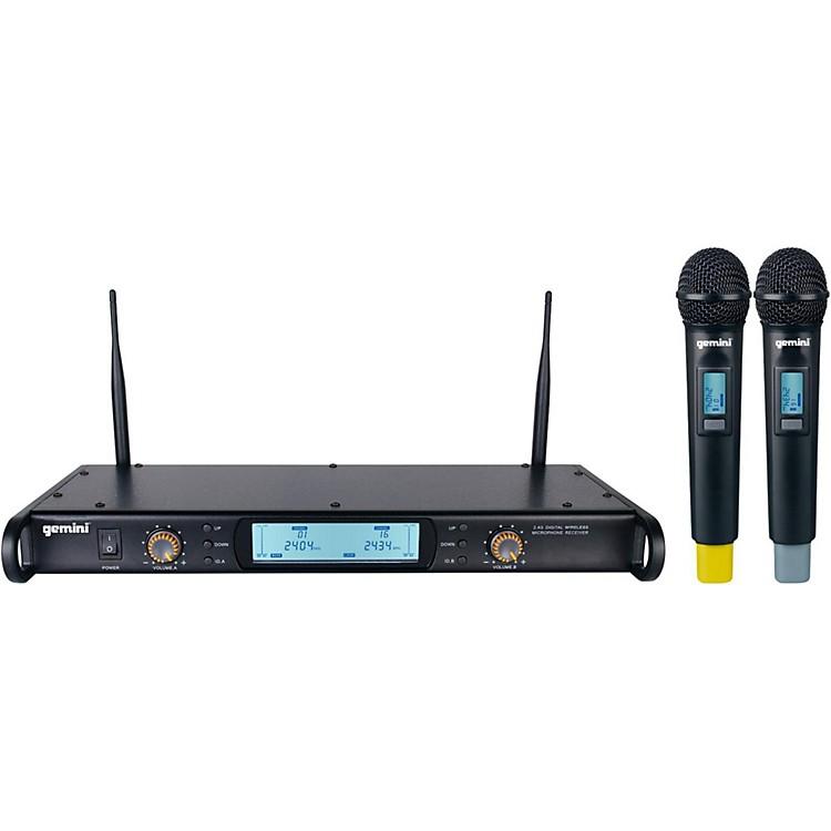 GeminiGDX-2000M Digital Wireless Dual Microphone System