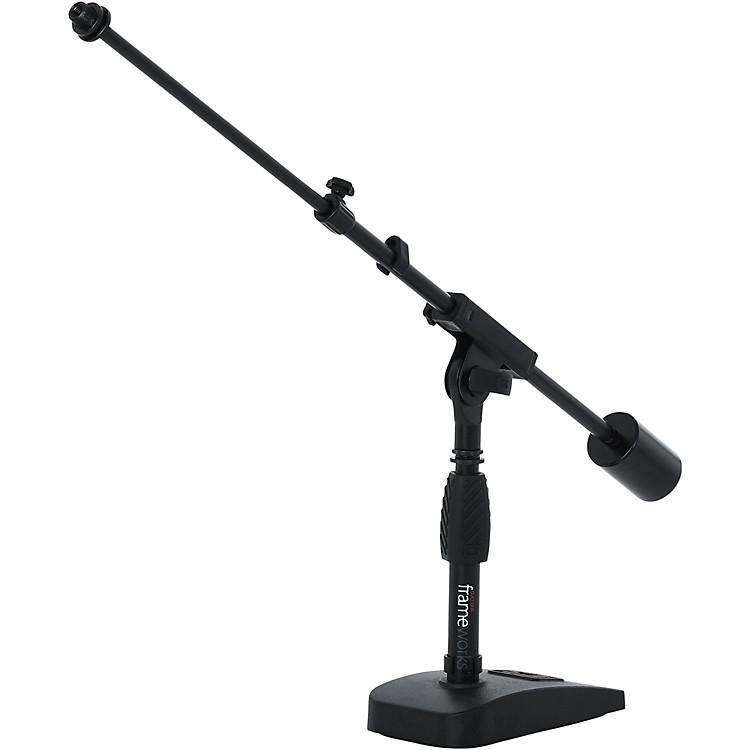 GatorGFW-MIC-0822 Telescoping Boom Mic Stand Desktop & Bass Drum