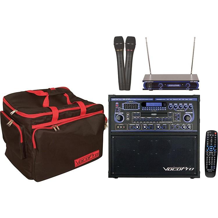 VocoProGIG STAR Karaoke Machine Package