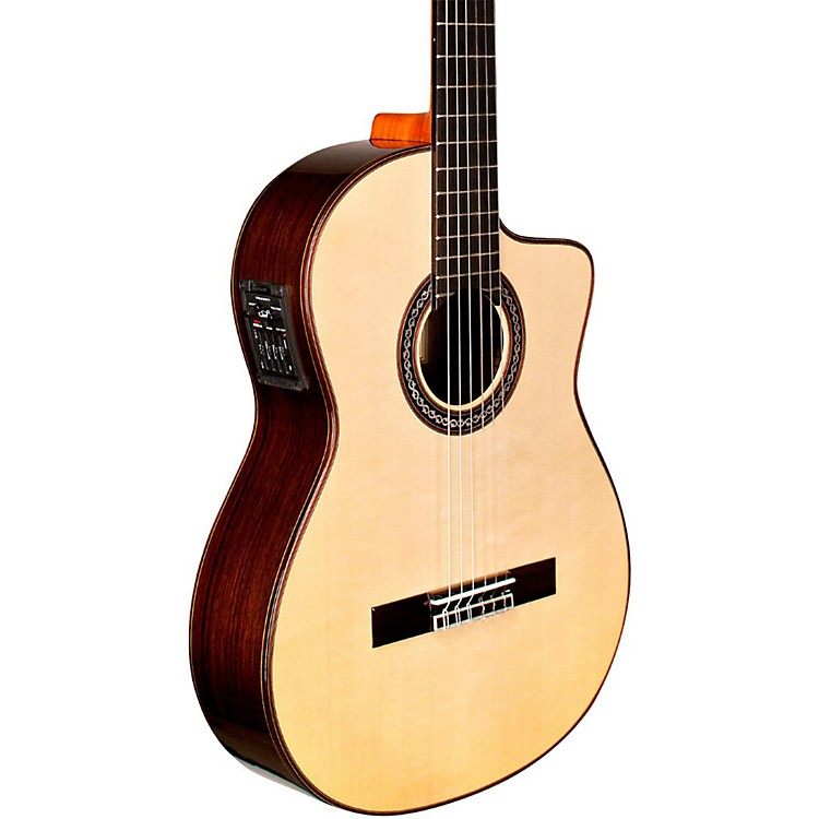Cordoba GK Pro Maple Nylon-String Flamenco Acoustic-Electric Guitar Natural