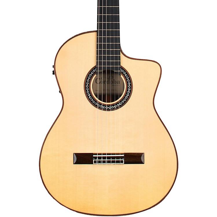 CordobaGK Pro Negra Acoustic-Electric Guitar888365898155