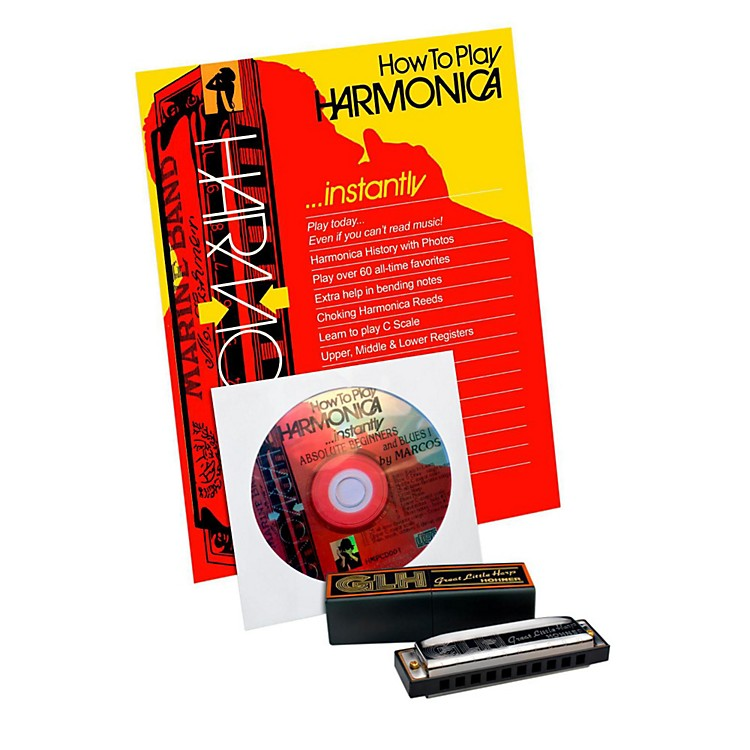 HohnerGLH-300 Complete Harmonica Package