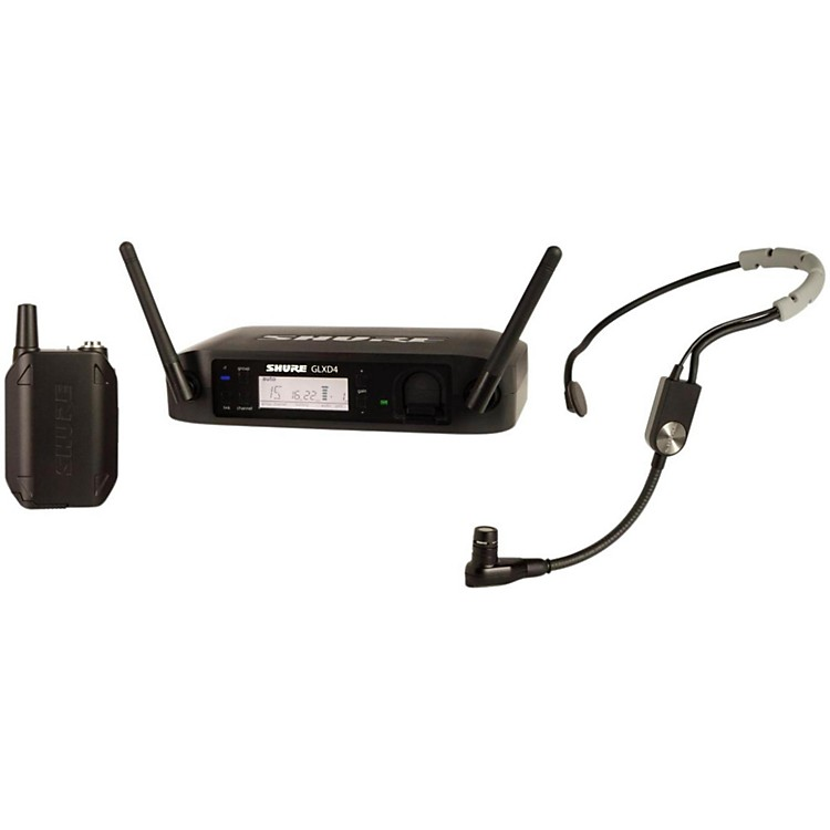 Shure GLX-D Digital Wireless Headset System with SM35 Headset Microphone Band Z2