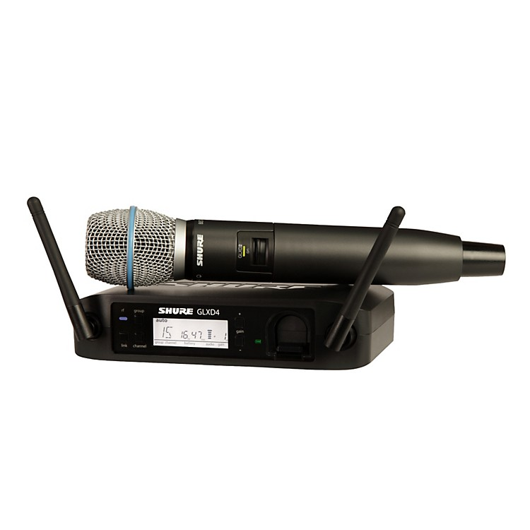 Shure GLX-D Wireless Vocal System with Beta 87A Mic Z2