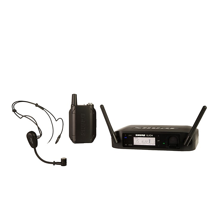 ShureGLX-D Wireless Vocal System with PG30TQG Headset Mic