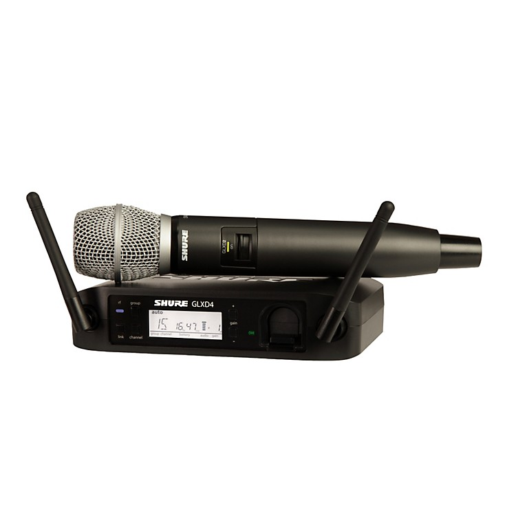 ShureGLX-D Wireless Vocal System with SM86 MicZ2
