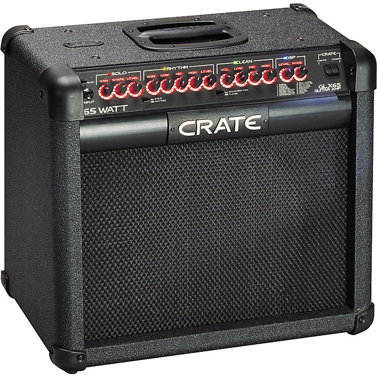 crate glx65 65 watt 1x12 combo amp with effects music123. Black Bedroom Furniture Sets. Home Design Ideas