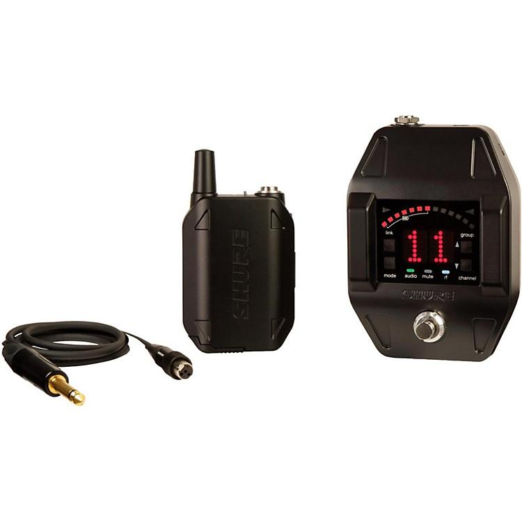 ShureGLXD16 Wireless System with GLXD6 Wireless Guitar Pedal