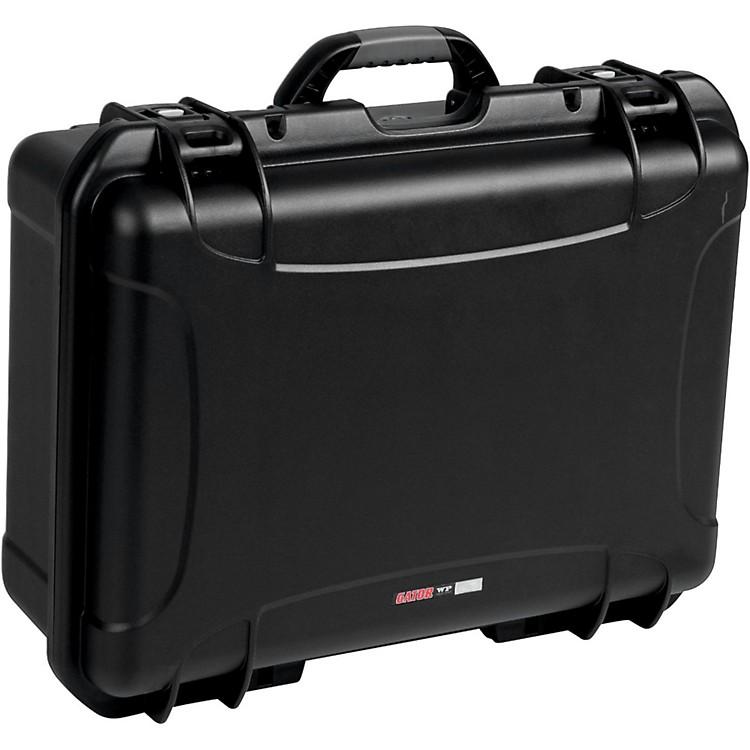 GatorGM-16-MIC-WP Waterproof Injection Molded Case for 16 Handheld MicrophonesBlack