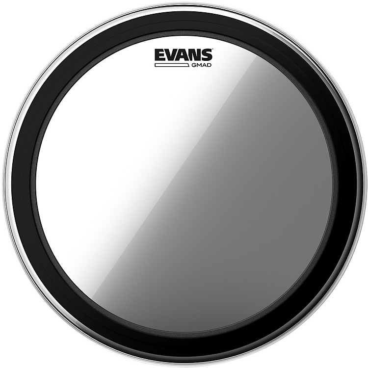 EvansGMAD Clear Batter Bass Drumhead26 in.