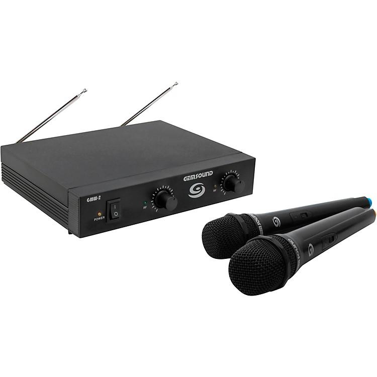 Gem SoundGMW-2 Dual-Channel Wireless Mic SystemCD
