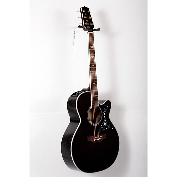 Takamine GN75CE Acoustic-Electric guitar Transparent Black 888365813844
