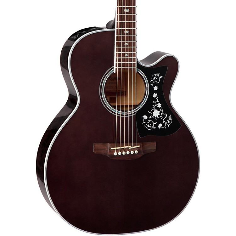 Takamine GN75CE Acoustic-Electric guitar Transparent Black
