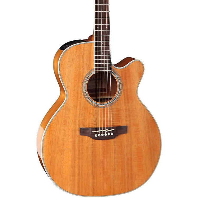 Takamine GN77KCE Mini Jumbo Acoustic-Electric Guitar Gloss Natural