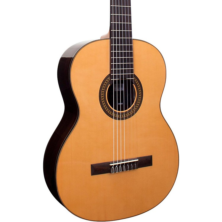 Giannini GNC-10/7 SPC 7-String Nylon String Acoustic Guitar Natural