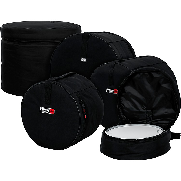 GatorGP-Fusion-100 5-Piece Padded Drum Bag SetBlack