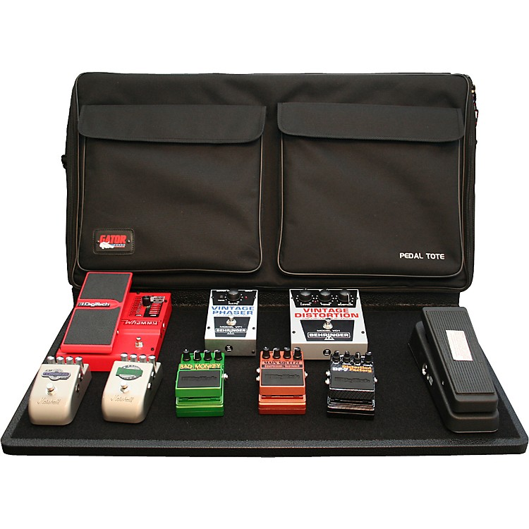 gator gpt pro pwr powered pedal tote pro pedal board with bag music123. Black Bedroom Furniture Sets. Home Design Ideas
