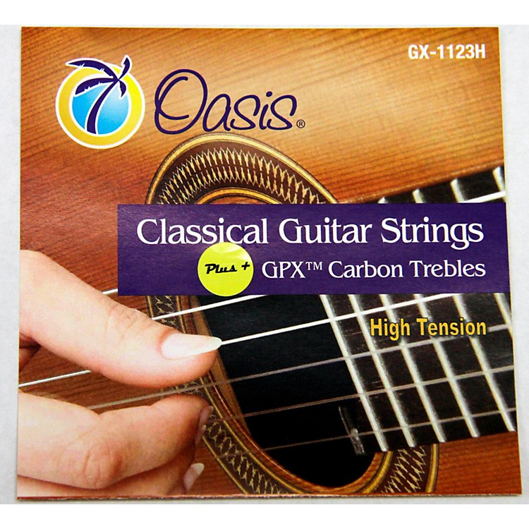 OasisGPX+ Classical Guitar Carbon Trebles High Tension