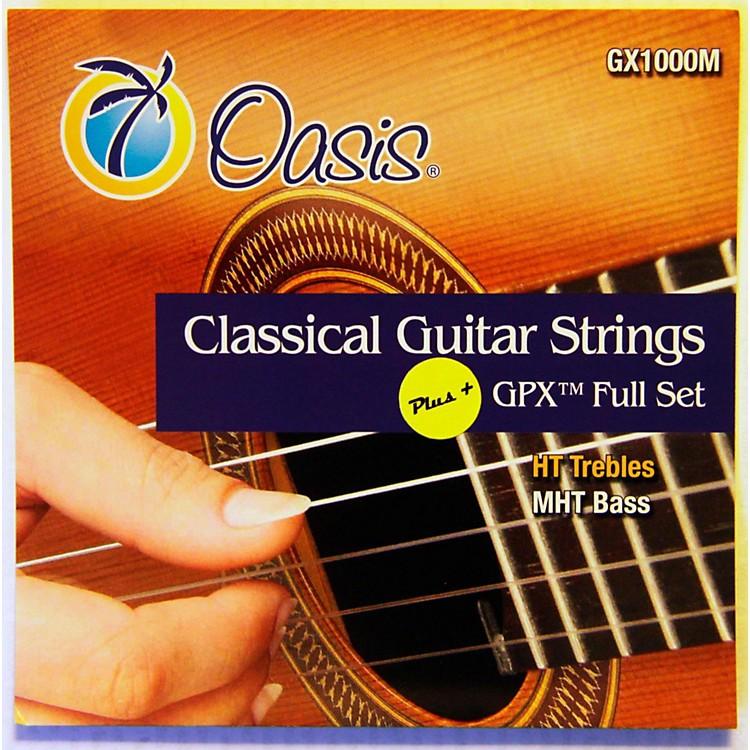 OasisGPX+ Classical Guitar High Tension GPX Carbon Trebles/Medium Tension Sostenuto Basses