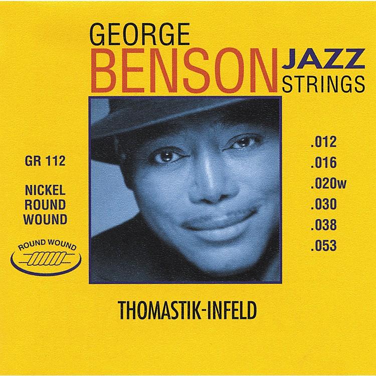ThomastikGR112 George Benson Medium Light Custom Roundwound Guitar Strings