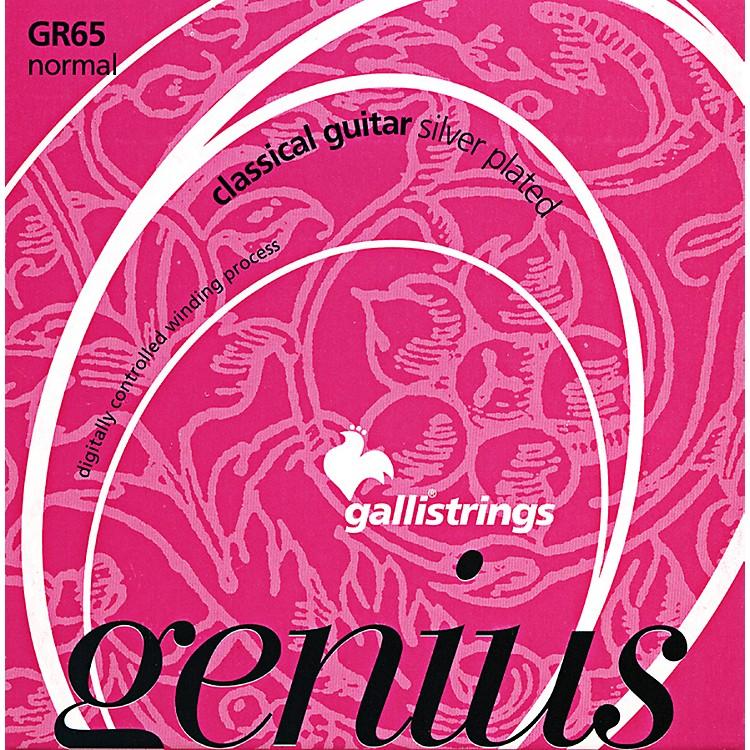 Galli StringsGR65 C GENIUS Coated Silverplated Normal Tension Classical Acoustic Guitar Strings